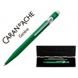 Boligrafo Caran D´Ache Coleccion 849 Classic Line Verde Punta media