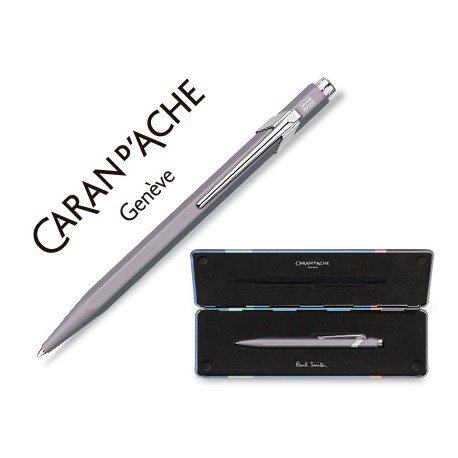 Bolígrafo marca Caran d´Ache 849 Paul Smith Lila