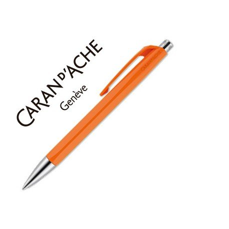 Boligrafo Caran d´Ache coleccion 888 Infinite naranja