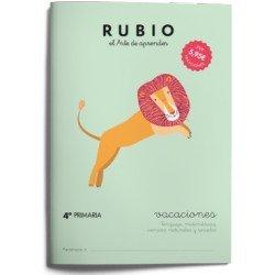 Cuaderno vacaciones Rubio 4º Primaria
