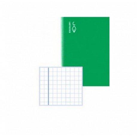 Libreta Escolofi grapada A4 32 hojas Cuadrícula Pautada verde 131071504 - Bajo Pedido -