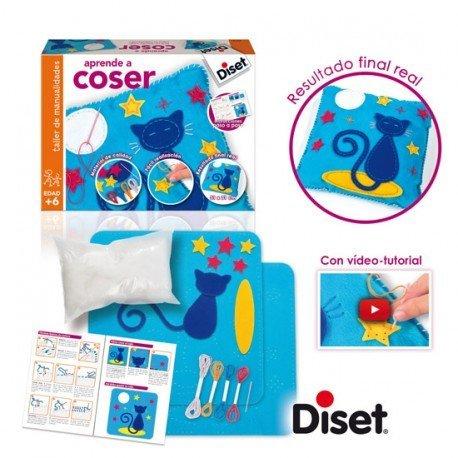 Juego didáctico A partir de 6 años Aprende a Coser Diset