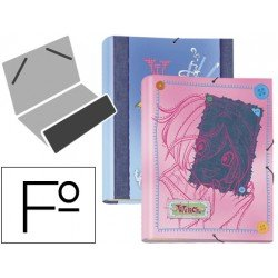 Carpeta gomillas A4 witch Liderpapel