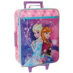 Maleta cabina blanda Frozen 50x18x35cm Elsa y Anna