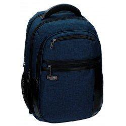 Mochila Escolar Movom Porta ordenador Sin carro 45,5x33x20cm Azul