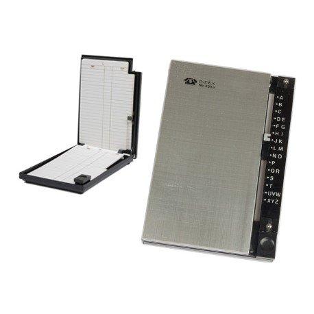 Listin telefonico metalico 15,5x10,5 cm 868-s