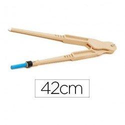 Compas para encerado Faibo de plastico 42 cm con adpatador