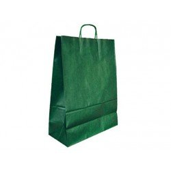 Bolsa Kraft Marca Q-Connect Verde 270X120X360 mm