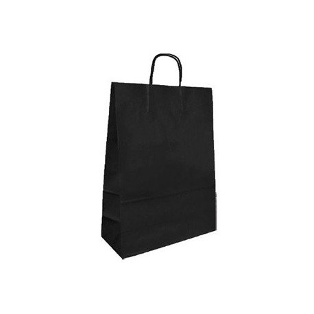 Bolsa Kraft Marca Q-Connect Negro 420X190X480 mm