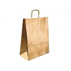 Bolsa Kraft Marca Q-Connect Oro 270X120X360 mm