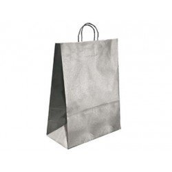 Bolsa Kraft Marca Q-Connect Plata 270X120X360 mm