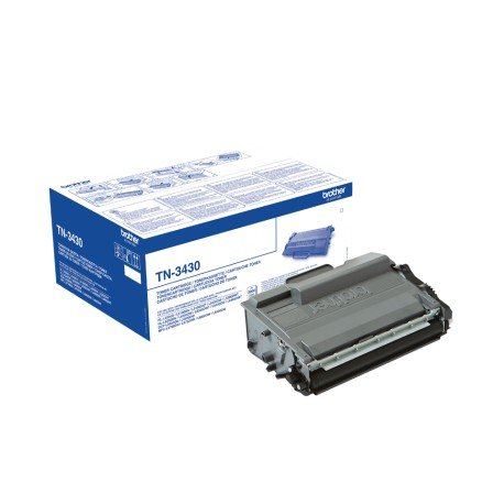 Toner Brother TN-3430 Color Negro Estándar