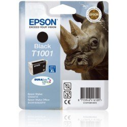 Cartucho Epson T1001 Color Negro C13T100140