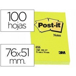 Bloc quita y pon Post-it ® 51 x 76 mm