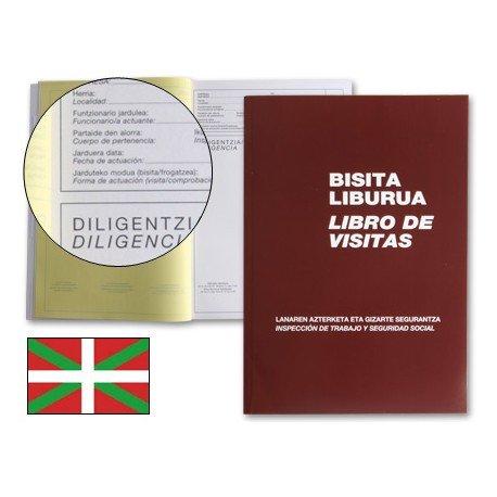 Libro de visitas Folio Miquelrius castellano-euskera