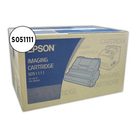 Fotoconductor + Toner Epson S051111 Negro