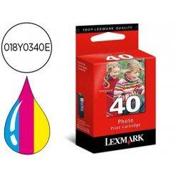 Cartucho Lexmark 018Y0340E Nº 40 Tricolor