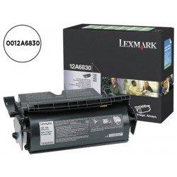 Tóner Lexmark 0012A6830 color negro