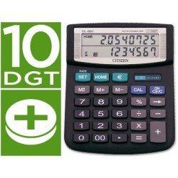 Calculadora Sobremesa Citizen Modelo DL-860 euro 10 digitos