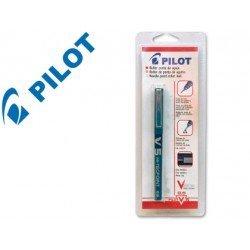 Rotulador Pilot V-5 azul en blister 0,3 mm