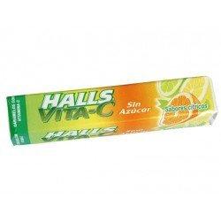 Caramelos marca Halls vitamina c