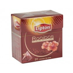 Infusion marca Lipton sin teina piramide rooibos