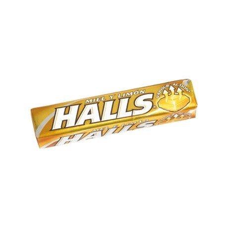 Caramelos marca Halls miel y limon