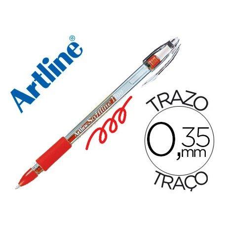 Boligrafo Artline 1700 Softline rojo