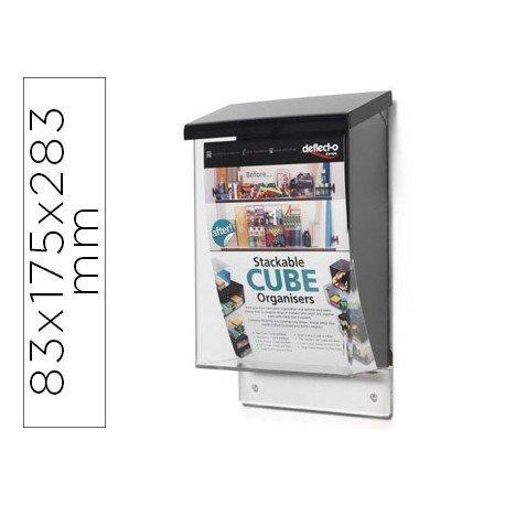 Buzon marca Archivo 2000 para correspondencia color cristal transparente