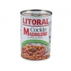 Cocido madrileño Litoral preparado para calentar y comer