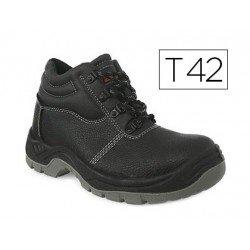 Botas de seguridad Marca Faru Cuero Negro Talla 42