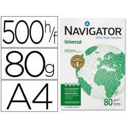 Papel Din A4 Navigator 80 gr 500 Hojas multifuncion