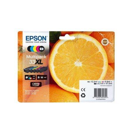 Cartucho Epson T3357 33XL Pack de 5 Colores C13T335740