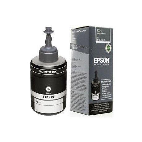 Recarga de Tinta Epson T7741 Eco Tank Color Negro 140 ml