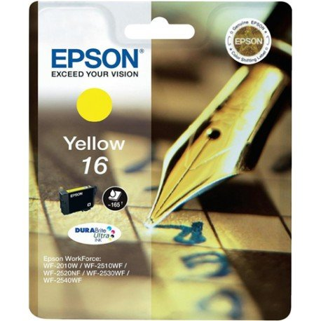 Cartucho Epson 16 color Amarillo C13T16244010