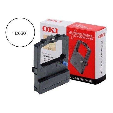 Cinta impresion original Oki negro 1126301