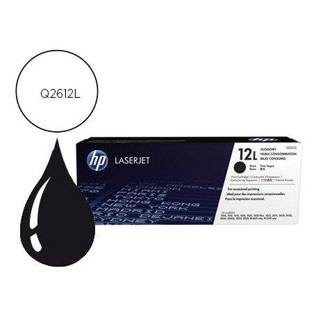 Toner marca HP 12L Laserjet Q2612L Negro