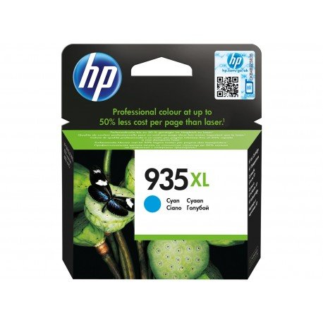 Cartucho HP 935XL color cian C2P24AE