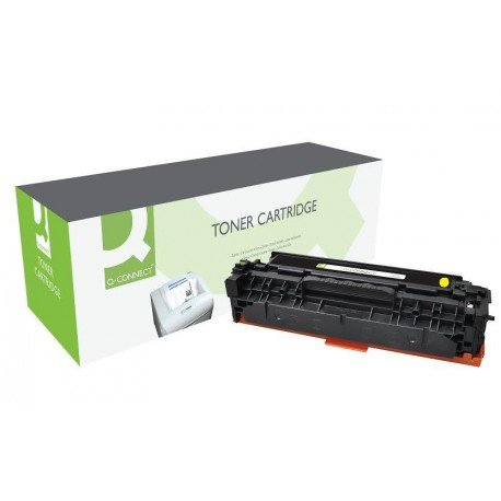 Toner Q-CONNECT color amarillo KF22357