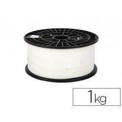 Filamento 3d Colido Premium PLA color blanco