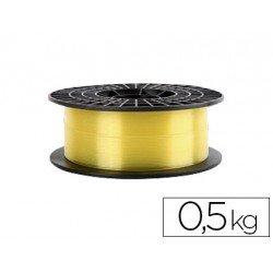 Filamento 3d Colido Gold translucido X PLA 1.75 mm color amarillo