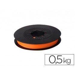 Filamento 3d Colido PLA termocramico 1.75 mm color naranja