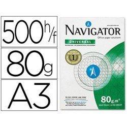 Papel Din A3 Navigator 80 gr 500 Hojas