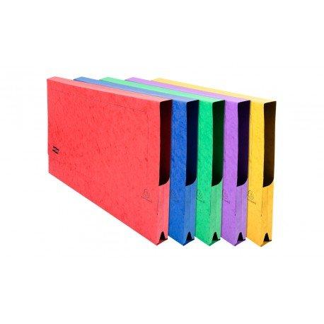 Subcarpeta Cartulina DIN A3 Exacompta con bolsa Colores Surtidos