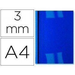 Tapa de Encuadernacion Termica PVC y Cartulina GBC DIN A4 Azul