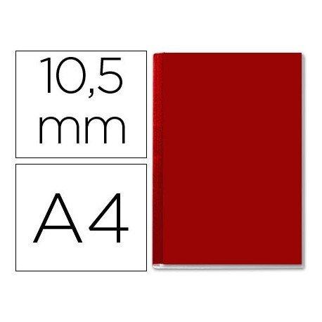 Tapa de Encuadernación Cartón Leitz DIN A4 Burdeos 71/105 hojas