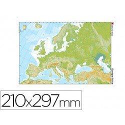 Mapa mudo de Europa fisico