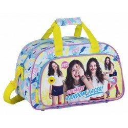 CARTERA ESCOLAR SAFTA SOY LUNA FACES BOLSA DEPORTE 400X240X230 MM