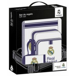 Set Regalo Escolar Real Madrid 1º equipacion 2016-2017