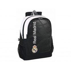 Mochila Escolar Real Madrid Adaptable a carro 32x16x44 cm Baloncesto